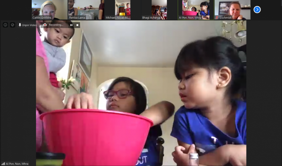 Learning never stops. Parents and kids learned about mixtures during our first virtual learning session with WQED.