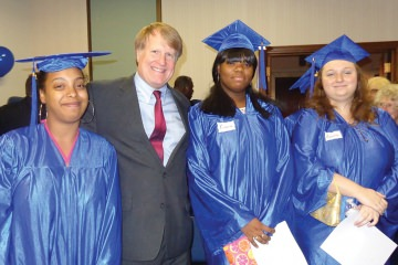 County Executive Rich Fitzgerald served as keynote speaker for the 13th annual Graduation Celebration and congratulated students on their success.