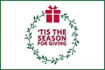 Tis the season for giving